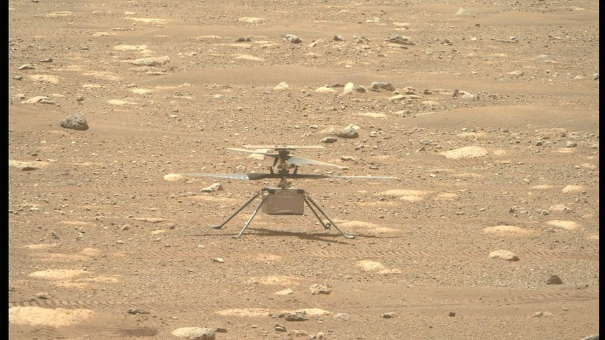 La NASA pospone el histórico vuelo de su helicóptero Ingenuity en Marte