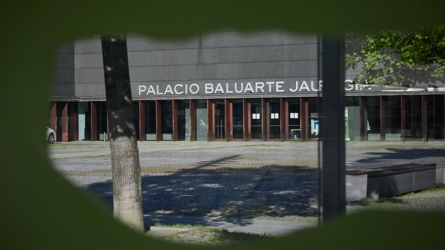 Archivo - Palacio de Congresos y Auditorio Baluarte de Pamplona.