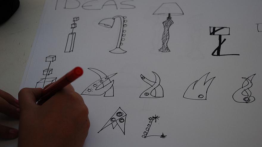 Los métodos tradicionales se utilizan sobre todo en las primeras etapas del proceso creativo
