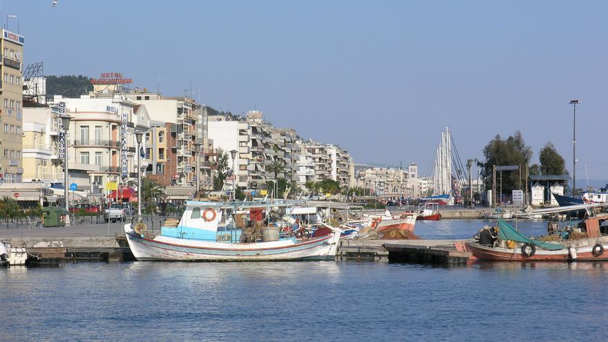 La ciudad portuaria de Volos es la puerta de entrada a la Península de Pelión. Dave Snowden
