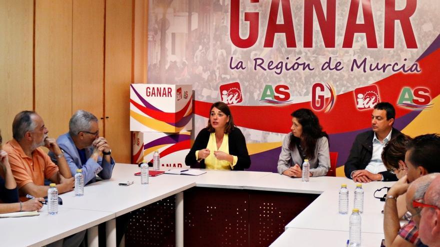 La exconsejera andaluza, Elena Cortés, en el acto de Ganar la Región de Murcia