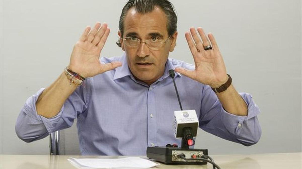 L'ex alcalde de Gandia, Arturo Torró
