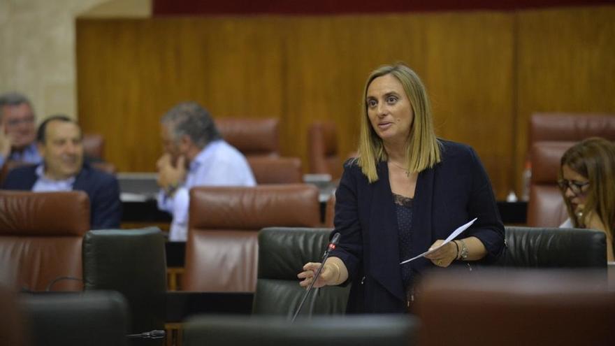 La consejera de Fomento, Infraestructuras y Ordenación del Territorio de la Junta de Andalucía, Marifrán Carazo