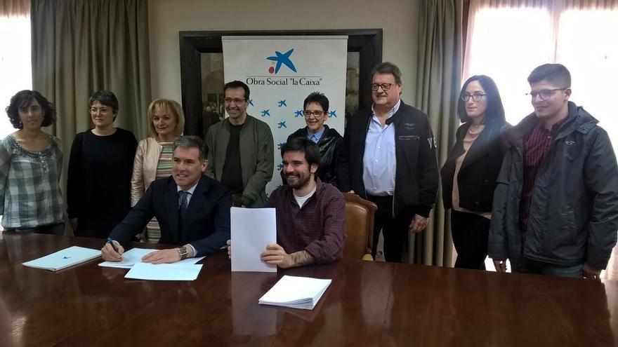 El Ayuntamiento de Tudela y la Obra Social La Caixa renuevan la campaña 'Ningún niño sin gafas'