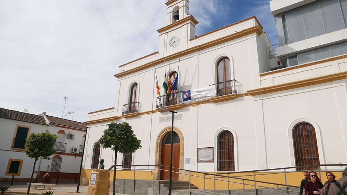 Ayuntamiento de Posadas, uno de los municipios en riesgo.