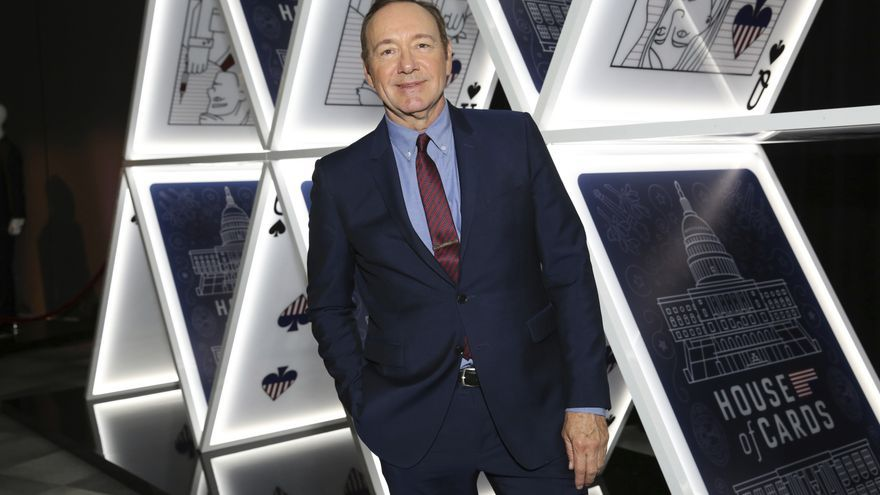 El actor  Kevin Spacey durante un evento de 'House of Cards' en 2017