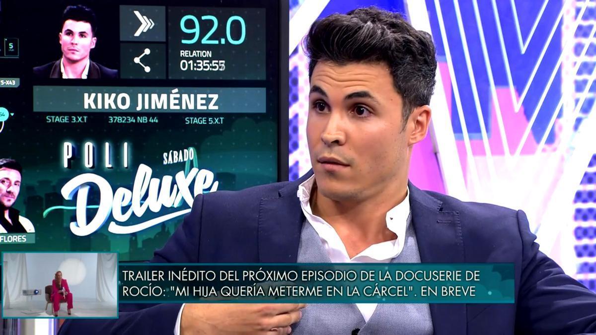 Kiko Jiménez se sometió al 'polideluxe'