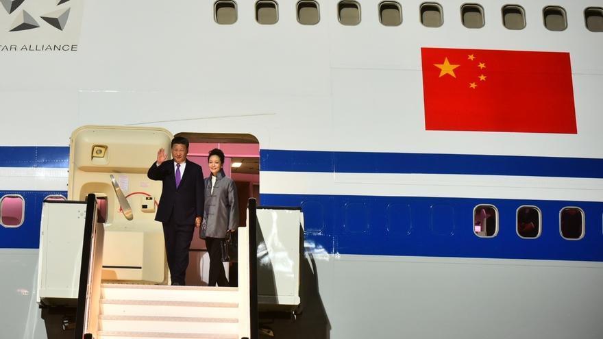 Aterriza en Gran Canaria el presidente de China