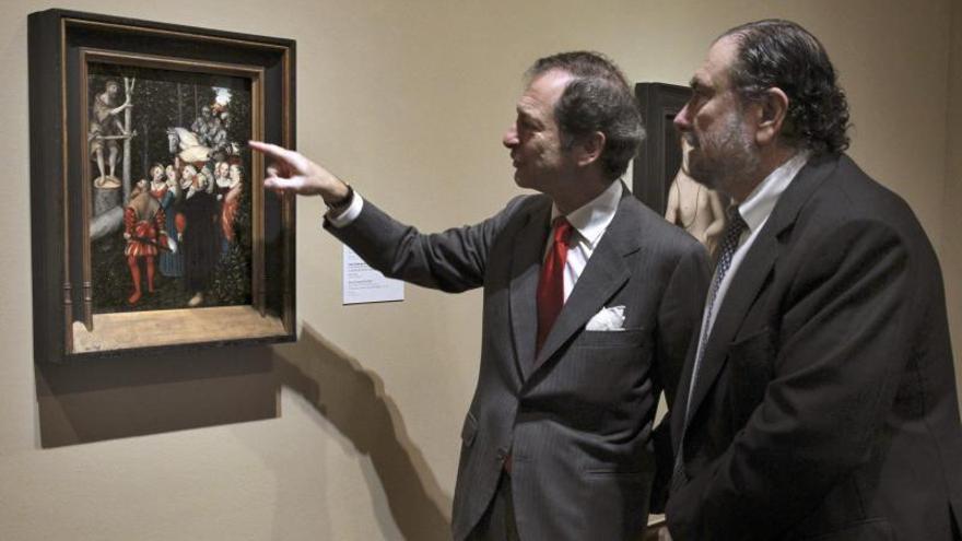 El Bellas Artes de Bilbao exhibe un infrecuente evangelio de Cranach el Viejo