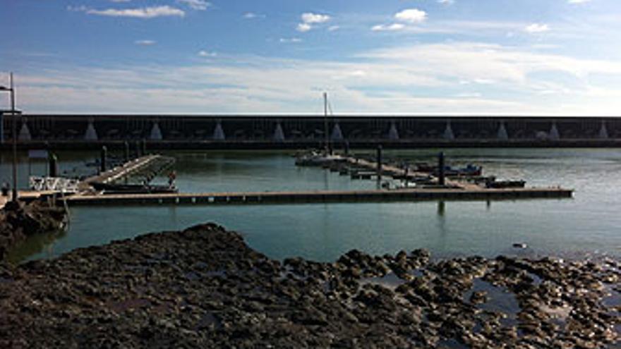 El puerto vacío de La Restinga. (CANARIAS AHORA)