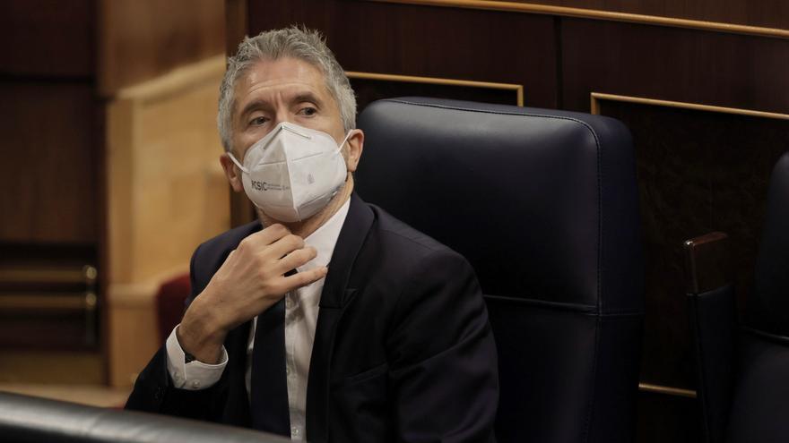 El ministro del Interior, Fernando Grande-Marlaska, en una imagen de archivo
