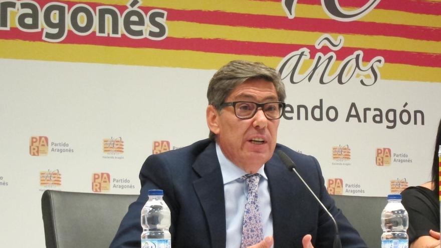 Aliaga (PAR) recuerda a Rajoy que el nuevo Plan Hidrológico deberá respetar el acuerdo electoral entre ambas formaciones