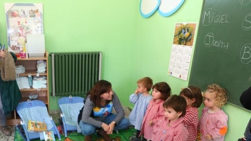 Inauguración de la escuela infantil de Villarquemado