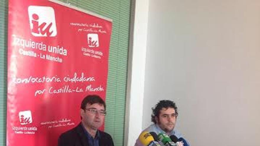 Jacobo Medianero, responsable de educación de Izquierda Unida-Castilla La Mancha.