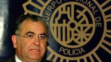 Juan Cotino, cuando fue director general de la policía nacional durante el Gobierno de Aznar.