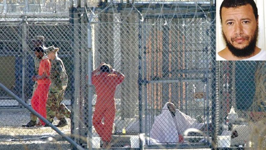 En Guantánamo Chekkouri era el preso 197. Los guardias no le llamaban por su nombre, sino por su número