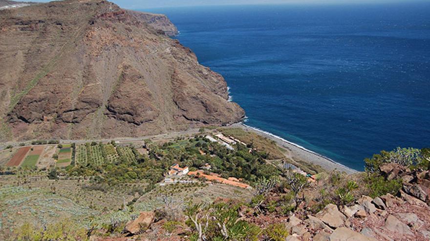 Playa del Cabrito. Magrama