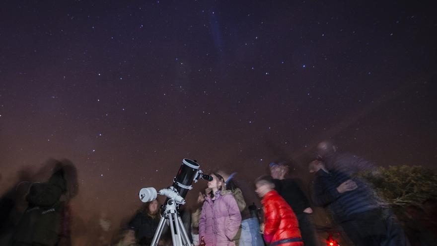 Observación astronómica Valdenazar