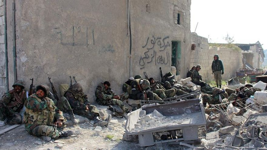 Las fuerzas gubernamentales arrebatan al EI el control de zonas en noreste sirio