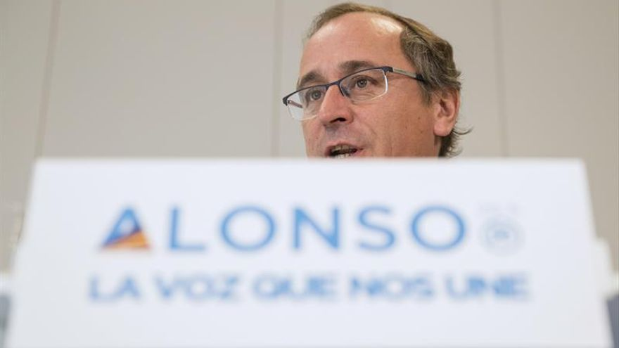 Alonso avisa al PNV de que el PP no está dispuesto a un intercambio de cromos