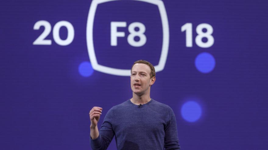 Mark Zuckerberg durante el F8 del año pasado