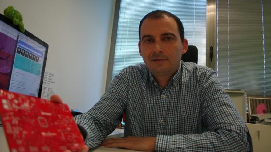 Benjamin García, gerente de Area Proyect, empresa creadora del proyecto Germanio.