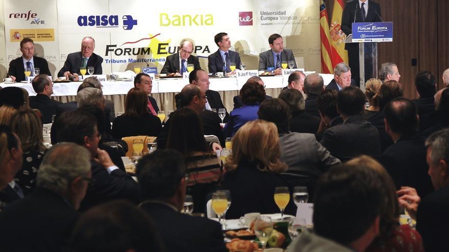 """Fabra cree que habrá más comunidades que sigan el modelo valenciano de tener una """"ventana"""" en TVE"""