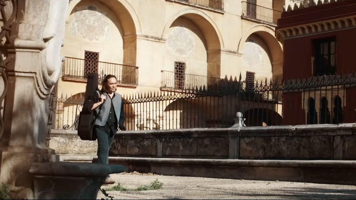 Vicente Amigo en una imagen de 'Para no olvidar'.
