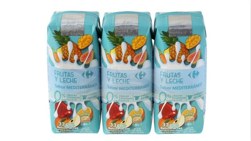 Zumos de Fruta+Leche Zero: ¿recomendables para los niños?