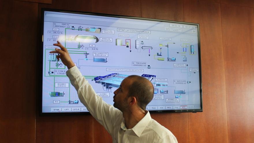 Pablo Cascales explica el funcionamiento de la ETAP Contraparada / PSS