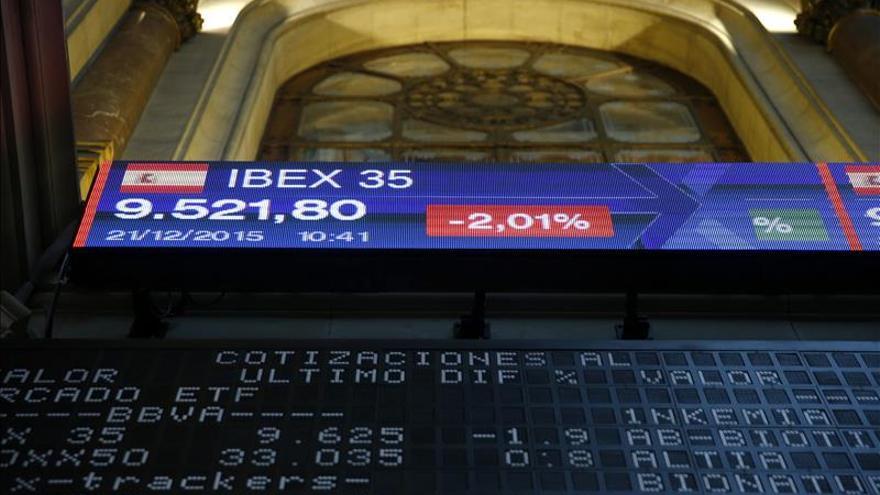 La Bolsa española gana el 0,98 % en la apertura y recupera los 9.500 puntos