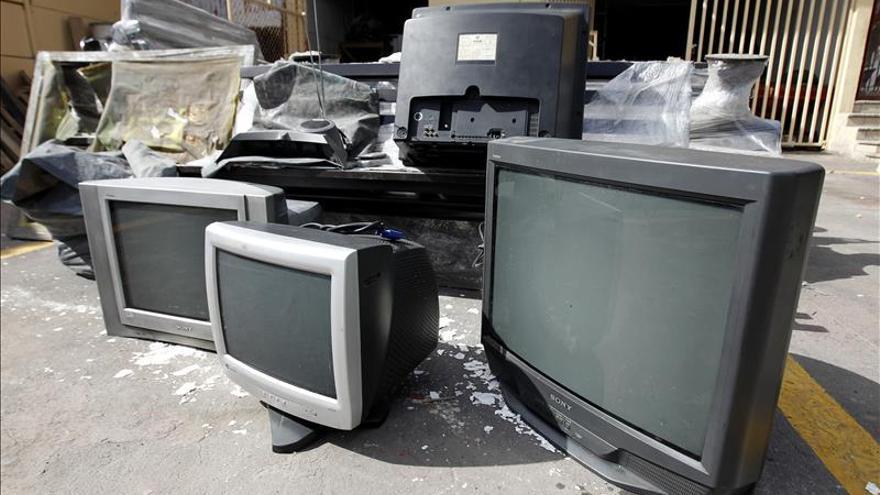 Los tres nuevos canales, limitados porque en España no todas las teles son HD