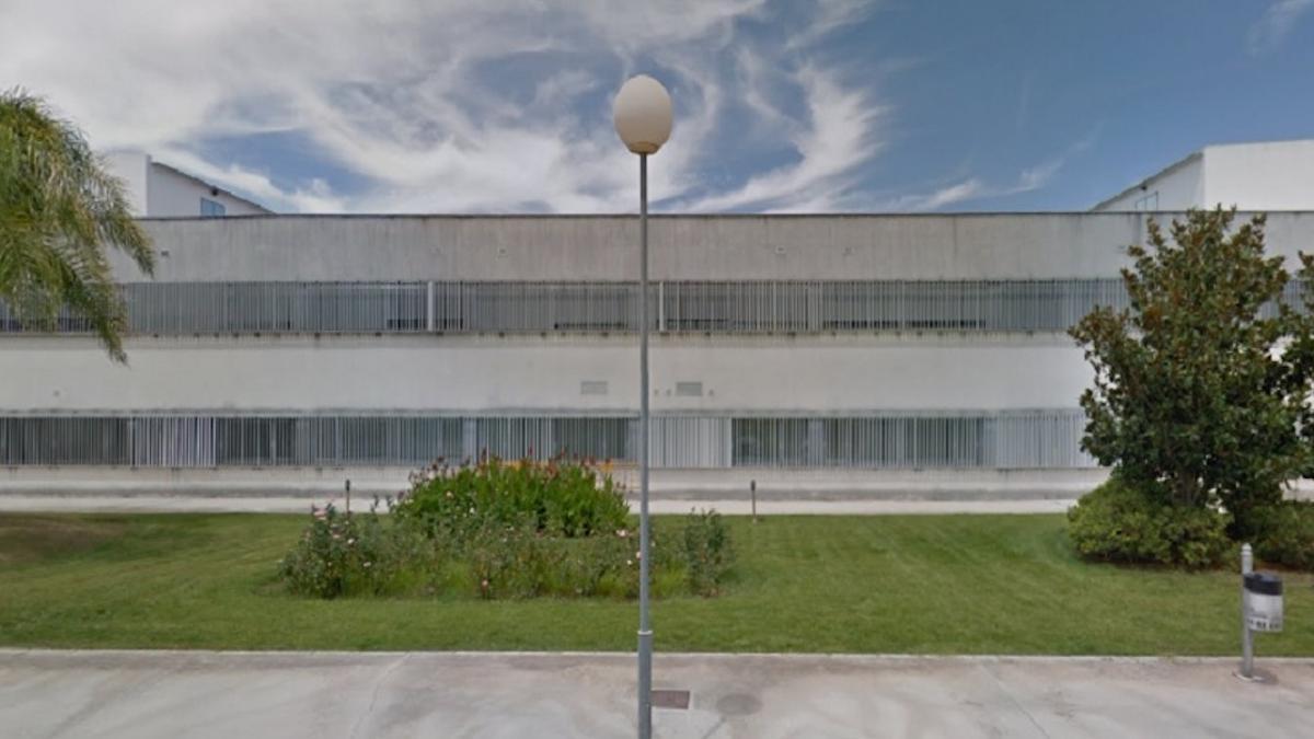 Fachada del Hospital de Montilla.