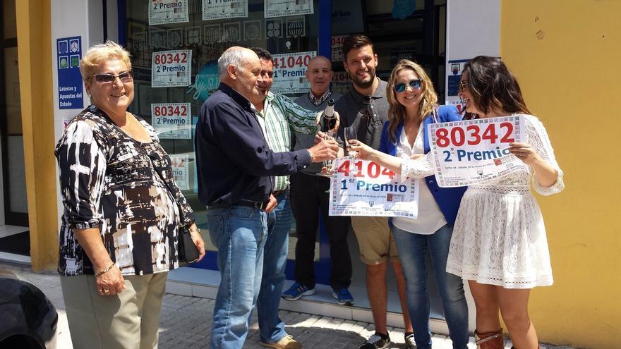 El primer y segundo premio de la Lotería Nacional dejan más de 1,8 millones de euros en Torrelavega