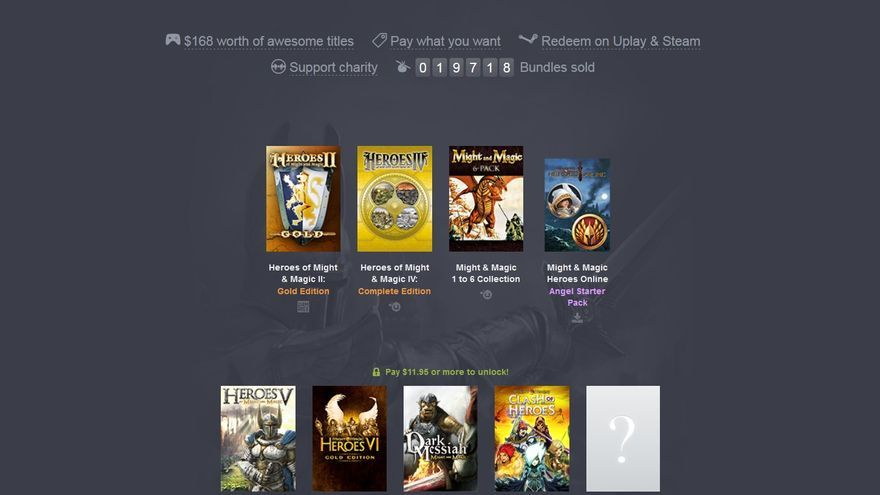 Might & Magic Humble Bundle