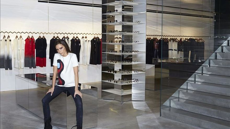 """Von Furstenberg y Victoria Beckham celebran el """"girl power"""" en Nueva York"""