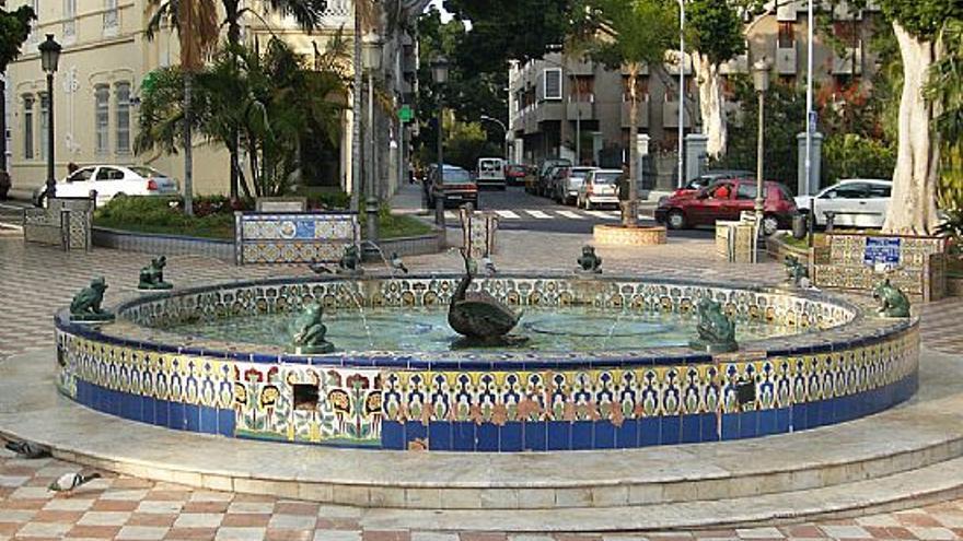 Imagen de archivo de la plaza de Los Patos, en Santa Cruz