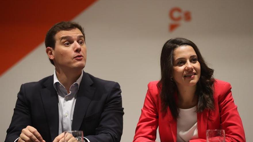 Arrimadas ve el procés debilitado y dice que la ley electoral beneficia al independentismo