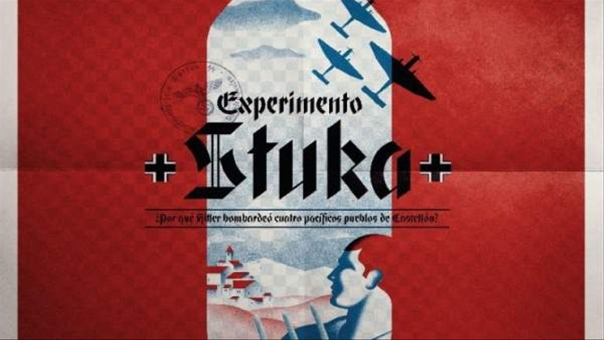 Cartel de 'Experimento Stuka'.
