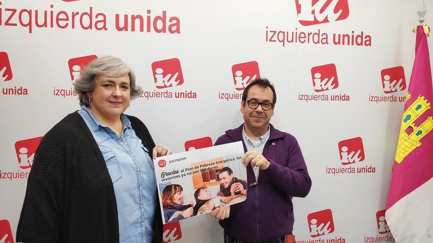 """IU pide al Gobierno de C-LM que retire la campaña """"infame"""" sobre pobreza energética y que pida perdón a las familias"""