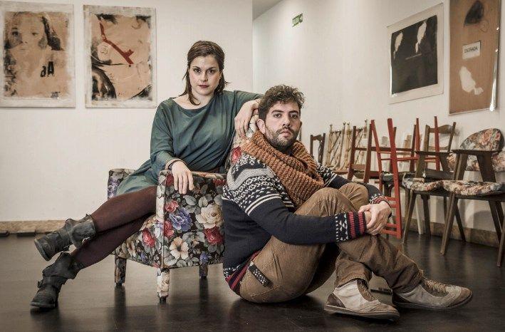 Eva Caballero y Ángel Málaga, gestores de espacio labruc   BRUNO RASCAO