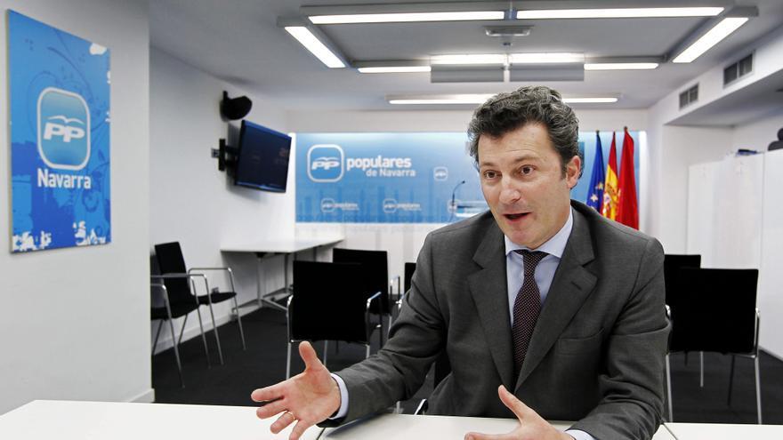 El diputado de PP Santiago Cervera, supuesto implicado en un intento chantaje en Navarra