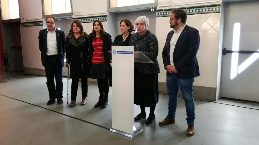Reunión de los diferentes alcaldes del área metropolitana