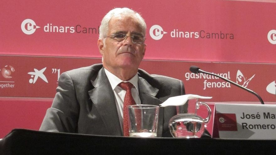 El fiscal superior de Catalunya, José María Romero de Tejada, en una imagen de archivo.