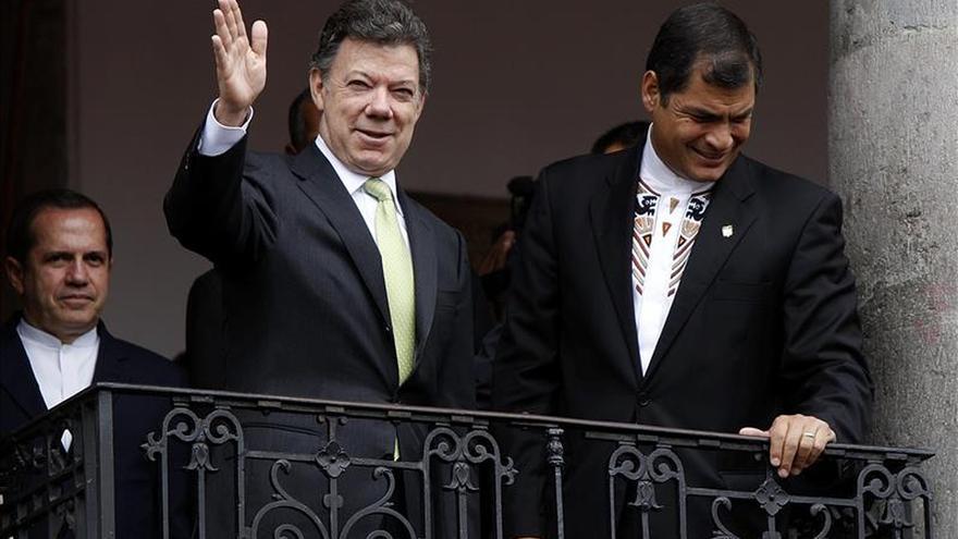 Santos quiere una reunión con Correa por el desequilibrio comercial en la frontera