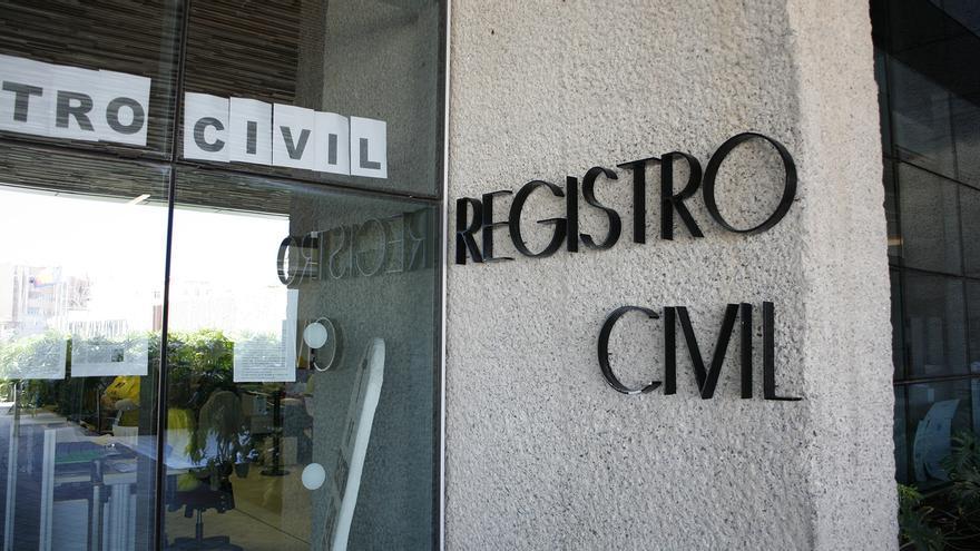 Registro Civil en la Ciudad de la Justicia de Las Palmas de Gran Canaria. (ALEJANDRO RAMOS)