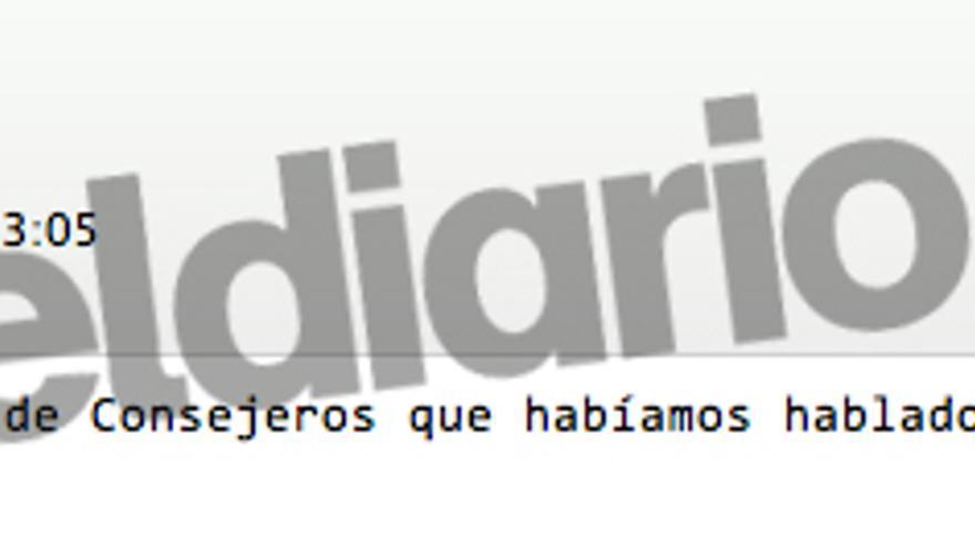 """Blesa pregunta por las tarjetas de los consejeros """"líderes o pueblo llano"""""""