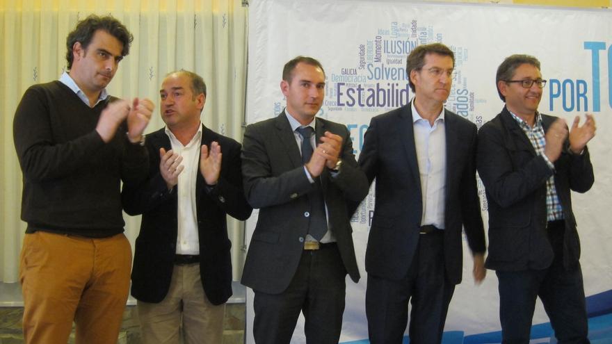 """Feijóo contraataca a Iglesias y pide el """"voto a los moderados del PSOE"""" frente a """"radicales y los que insultan"""""""