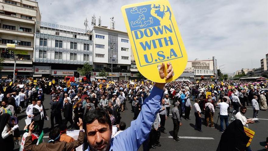 Irán condena las nuevas sanciones impuestas por EEUU y pide reacción al mundo