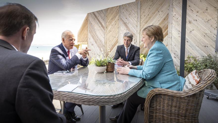 Biden tiene ronda de contactos en márgenes del G7 sobre Rusia e Indo-Pacífico